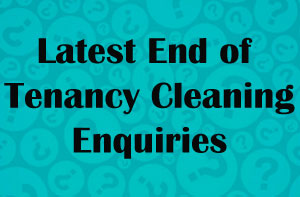 South Yorkshire End of Tenancy Cleaning Enquiries